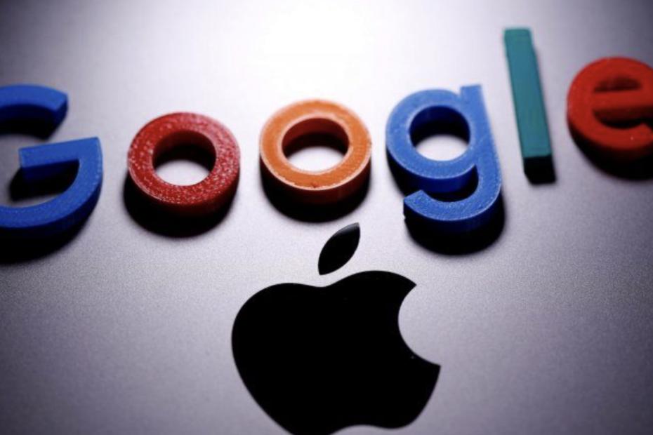 logo google apple